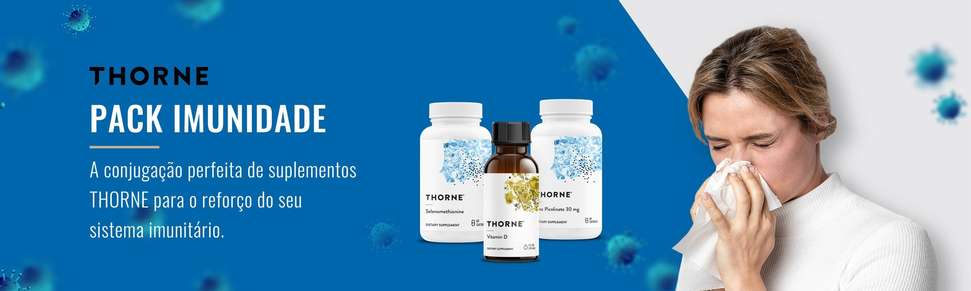 Pack Imunidade Thorne