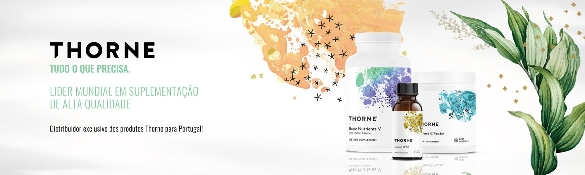 Gama de Suplementos Thorne